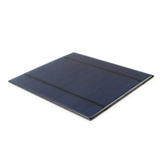 Highly Efficient Solar Panel for ALLPOWERS 2.5W 5V 500mAh Mini Encapsulated Solar DIY Battery Charger Kit